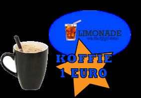 koffie bij botenverhuur Van Vliet